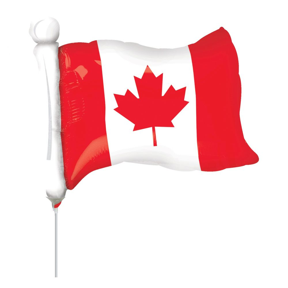 Canada Day Mylar and Foil Balloons