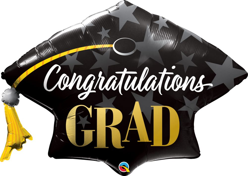 Graduation Mylar and Foil Balloons