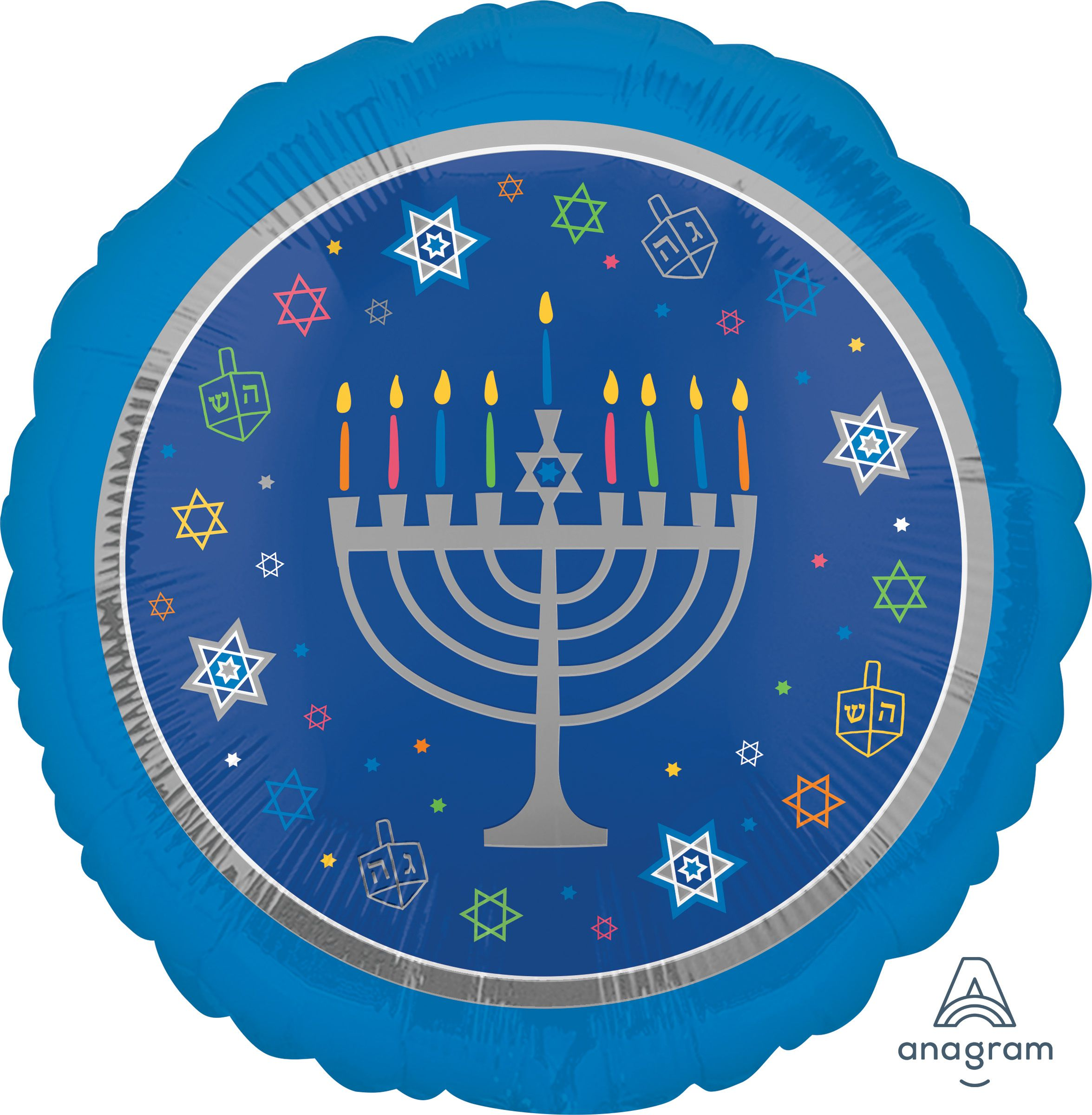 Hanukkah Mylar and Foil Balloons
