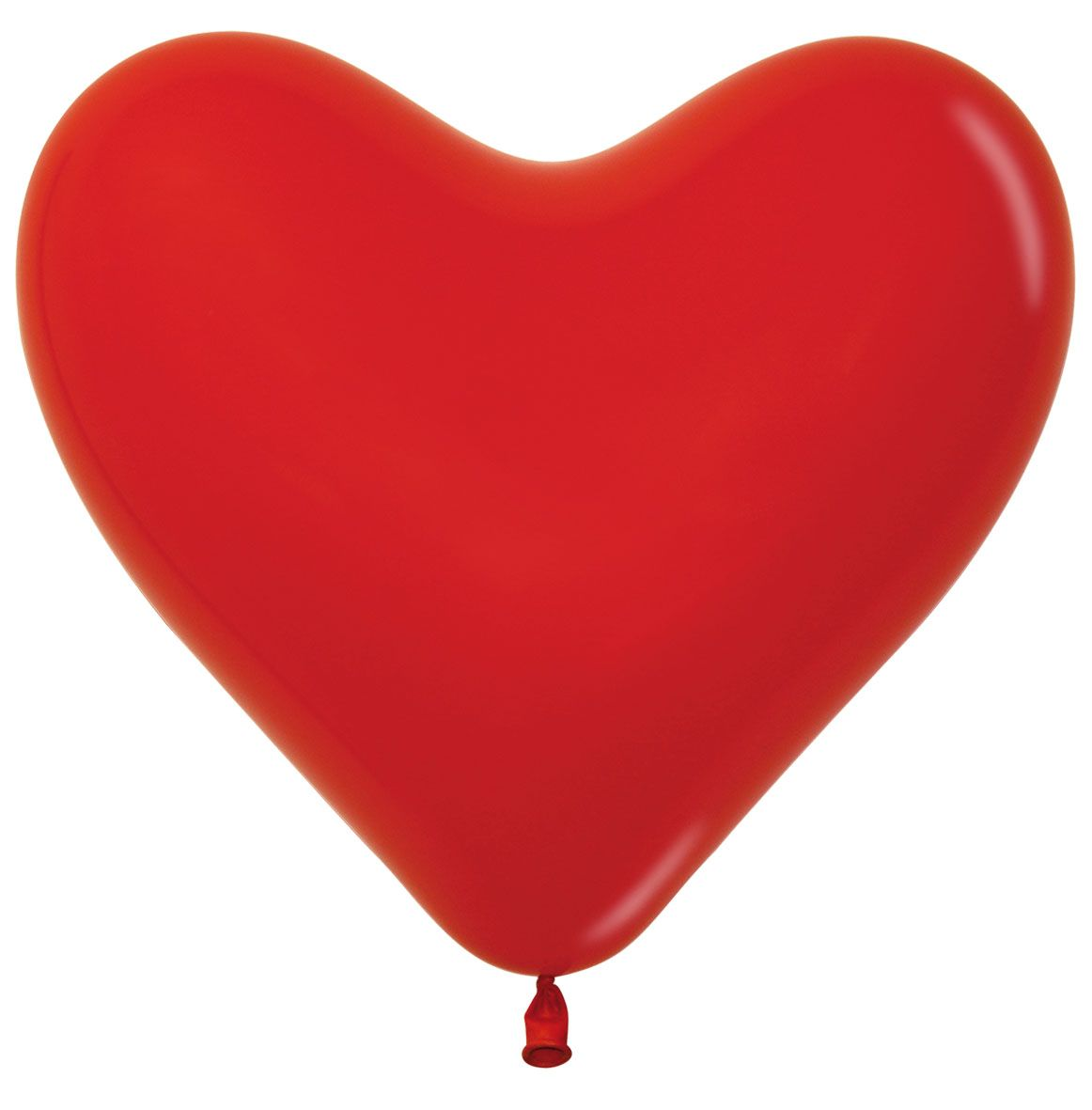 Heart-Shaped Latex Balloons