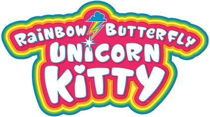 Rainbow Butterfly Unicorn Kitty Balloons