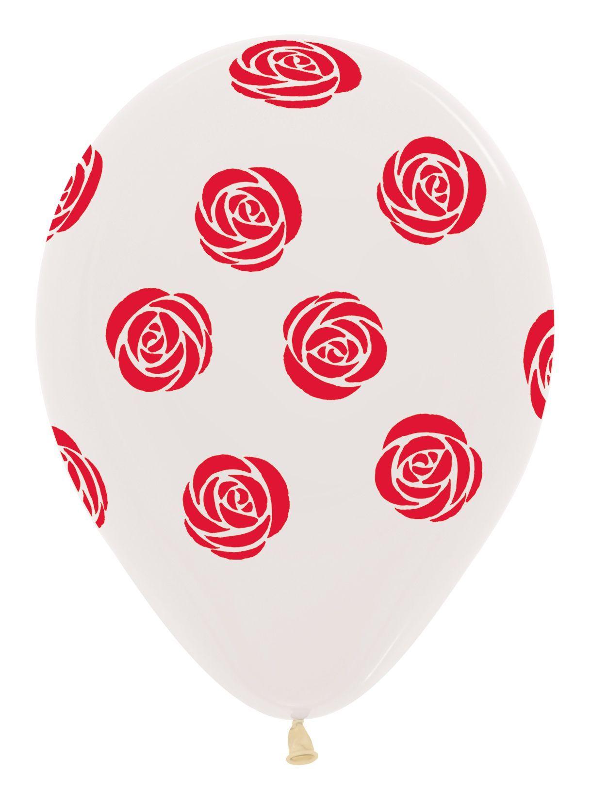 Valentines Latex Balloons
