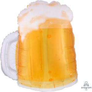 SuperShape Beer Mug Clear