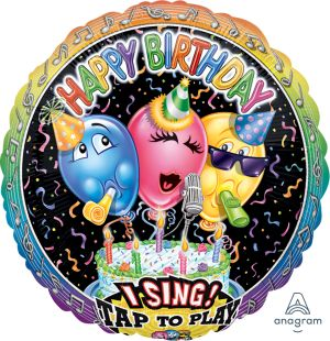Sing-A-Tune Singing Balloon Birthday