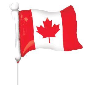 Mini Shape Canadian Flag