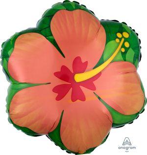 Junior Shape Orange Hibiscus