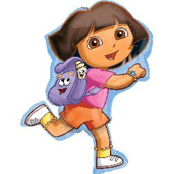 SuperShape Dora Exploring
