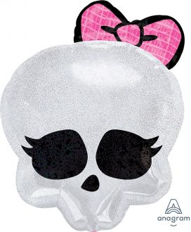 Junior Shape Monster High Skullette Badge
