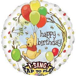 Sing-A-Tune Pooh Birthday