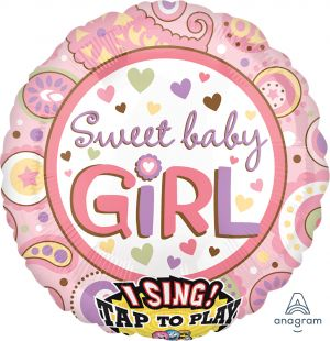 Sing-A-Tune Sweet Baby Girl