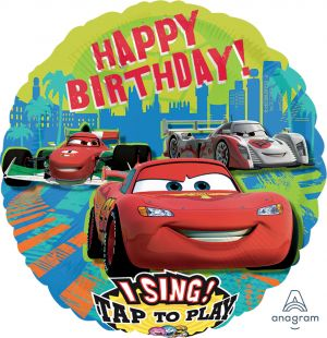 Sing-A-Tune Cars Group Birthday