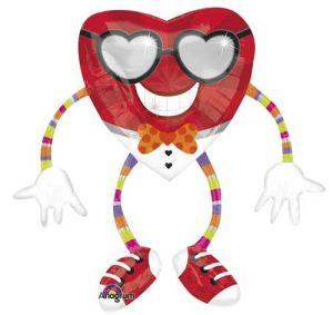 Airwalkers Funky Heart Guy