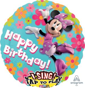 Sing-A-Tune Minnie Mouse Happy Birthday