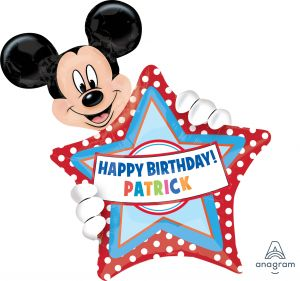 SuperShape Personalized Mickey Mouse Birthday