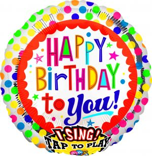 Sing-A-Tune Happy BDay to You Dots