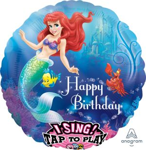 Sing-A-Tune Little Mermaid Happy Birthday