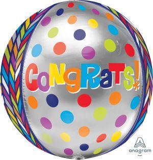 Orbz Dotty Geometric Congrats
