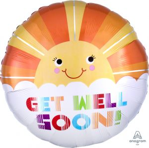 Jumbo Get Well Soon Smiley Sunshine