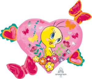 SuperShape Tweety Hearts & Butterflies