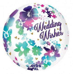Orbz Watercolor Wedding Wishes