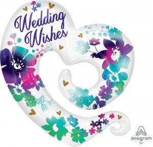 SuperShape Watercolor Wedding Wishes