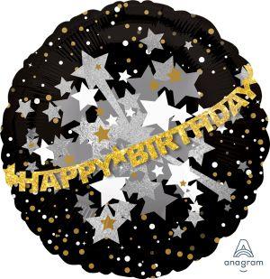 SuperShape Doo-Dads Happy Birthday Sparkle Banner