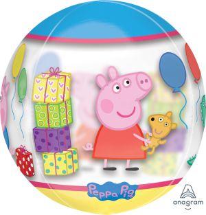 Orbz Clear Peppa Pig