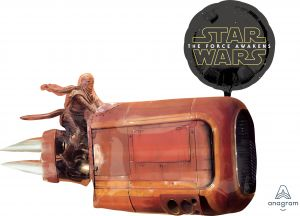 SuperShape Star Wars The Force Awakens Land Cruiser
