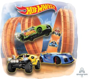 Jumbo Panoramic Hot Wheels Racer