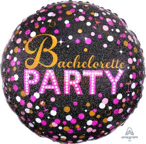 Jumbo Holographic Bachelorette Sassy Party