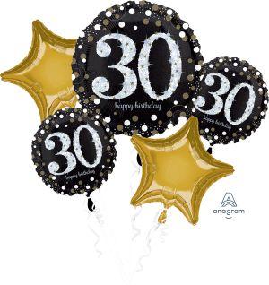 Bouquet Sparkling Birthday 30