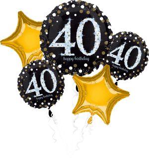 Bouquet Sparkling Birthday 40