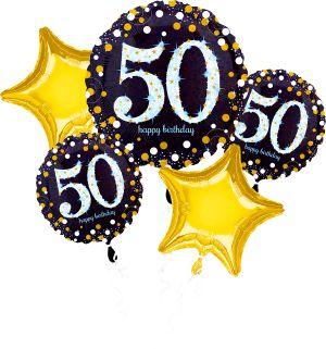 Bouquet Sparkling Birthday 50