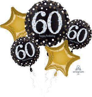 Bouquet Sparkling Birthday 60