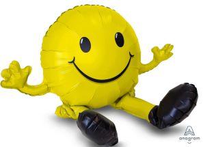 CI: Sitting Happy Face Yellow