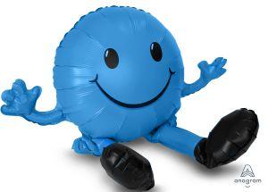 CI: Figurine Happy Face Blue