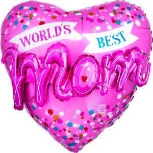 Multi-Balloon World's Best M-O-M!