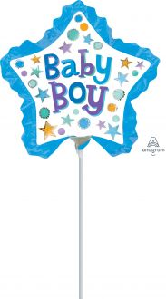 Mini Shape Baby Boy Star with Ruffle