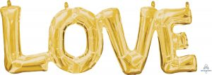Phrase LOVE Gold