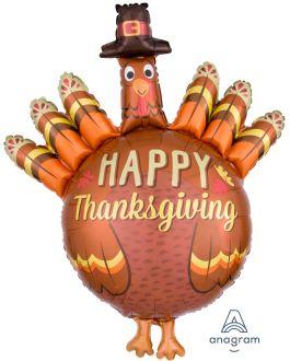 SuperShape Thanksgiving Pilgrim Turkey