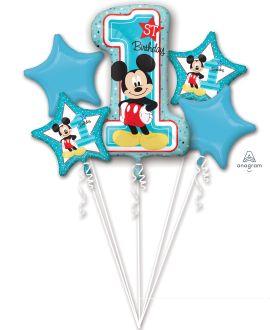 Bouquet Mickey 1st Birthday