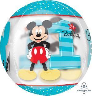 Orbz Mickey 1st Birthday