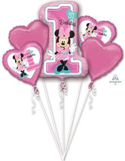 Bouquet Minnie 1st Birthday