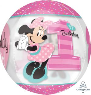 Orbz Minnie 1st Birthday