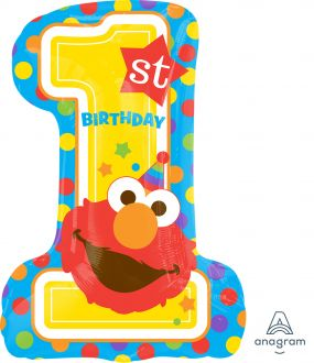 SuperShape Sesame Street 1st Brithday