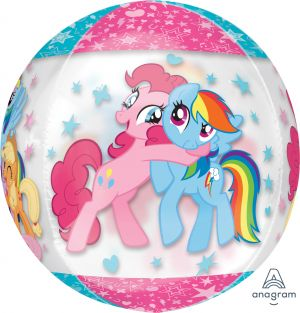 Orbz My Little Pony Clear