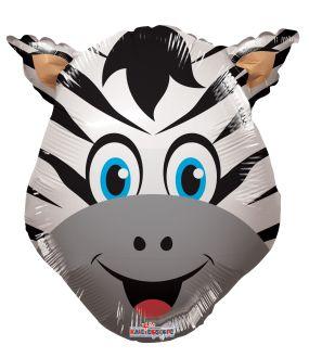 Mini Shape Zebra Head