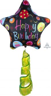 Coil Tail AirWalker Happy Birthday Bursts