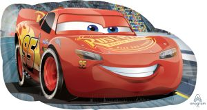 SuperShape Cars Lightning McQueen