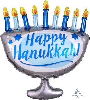 SuperShape Happy Hanukkah Menorah